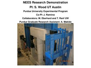 Purdue Experimental Program