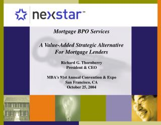 Mortgage BPO Services  A Value-Added Strategic Alternative For Mortgage Lenders