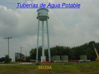 Tuber�as de Agua Potable