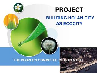 PROJECT BUILDING HOI AN CITY AS ECOCITY