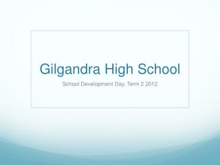 Gilgandra High School