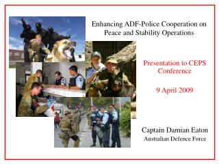 Presentation to CEPS Conference 9 April 2009