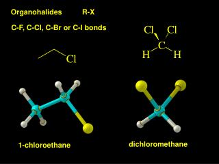Organohalides          R-X