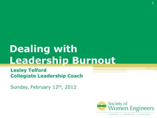 Dealing with  Leadership Burnout