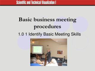 Basic business meeting procedures