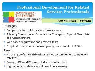 Professional Development for Related Services Professionals
