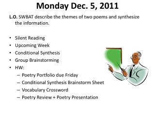 Monday Dec. 5, 2011