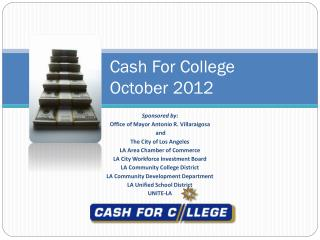 Cash For College October 2012
