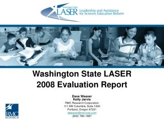 Washington State LASER 2008 Evaluation Report