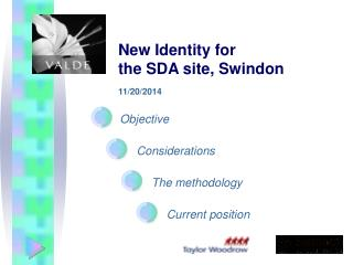 New Identity for  the SDA site, Swindon