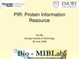 PIR: Protein Information Resource
