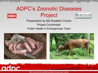 ADPC's Zoonotic Diseases Project
