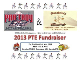 2013 PTE Fundraiser