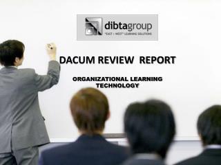 DACUM REVIEW  REPORT