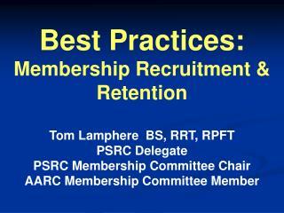 AARC Membership for Dummies!