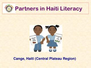 Partners in Haiti Literacy