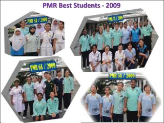 PMR Best Students -  2009
