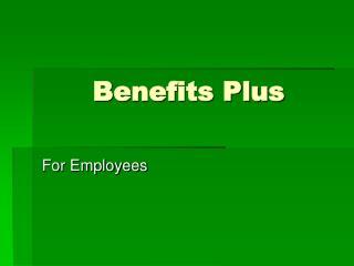 Benefits Plus