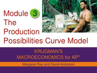 Module The  Production Possibilities Curve Model