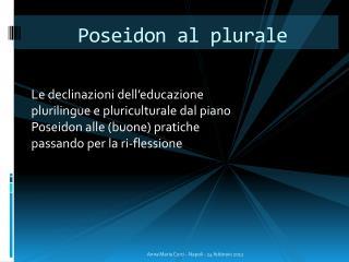 Poseidon  al plurale