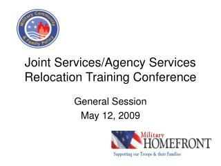 Joint Services/Agency Services Relocation Training Conference