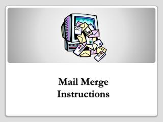 Mail Merge Instructions