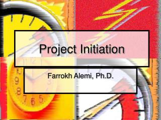 Project Initiation