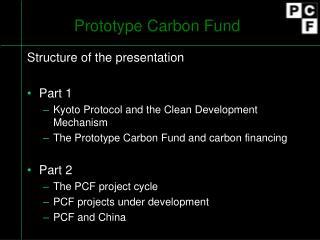 Prototype Carbon Fund