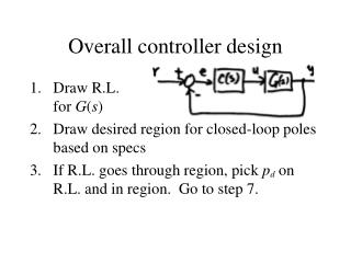 Overall controller design