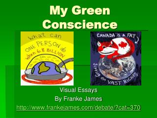 My Green Conscience