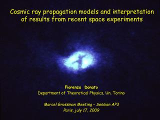Cosmic ray propagation models and interpretation  of results from recent space experiments
