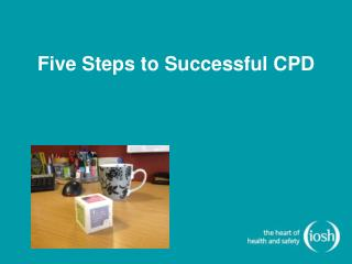 Five Steps to Successful CPD