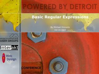 Basic Regular Expressions