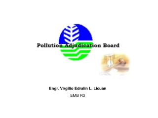 Engr. Virgilio Edralin L. Licuan EMB R3