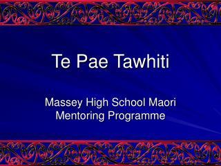 Te Pae Tawhiti