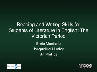 Reading and Writing Skills for Students of Literature in English: The Victorian Period