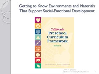 Getting to Know Environments and Materials That Support Social-Emotional Development