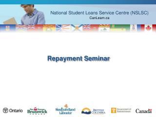 Repayment Seminar