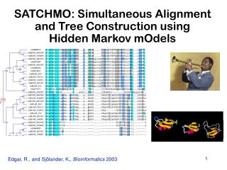 SATCHMO: Simultaneous Alignment and Tree Construction using  Hidden Markov mOdels