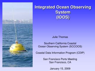 Integrated Ocean Observing System  (IOOS)