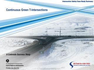 Intersection Safety Case Study Summary
