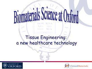 Biomaterials Science at Oxford