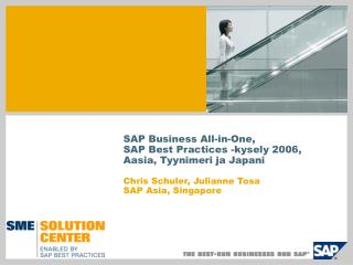 SAP Business All-in-One, SAP Best Practices -kysely 2006, Aasia, Tyynimeri ja Japani