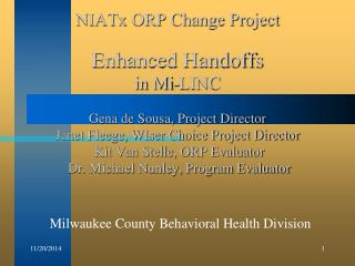 Milwaukee County Behavioral Health Division