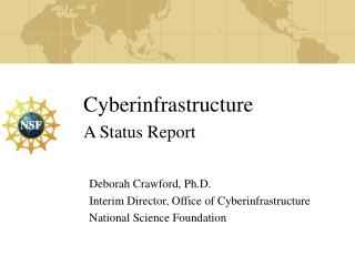 Cyberinfrastructure A Status Report