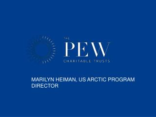 Marilyn Heiman, us arctic program director