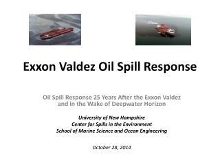 Exxon Valdez Oil Spill Response