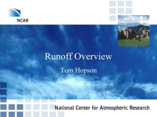 Runoff Overview