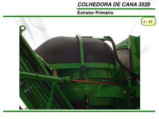 O suporte da pá do extrator reduz a possibilidade de falha da pá por fadiga.