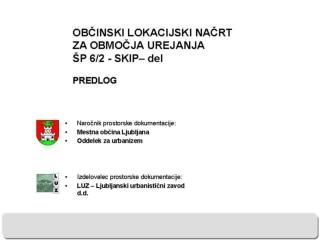 predlog OLN SP62 predstavitev